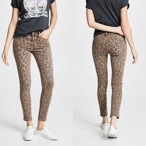 NWT BLANKNYC Reade Leopard Crop Jeans 27 & 29